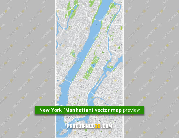 New York (Manhattan) map preview